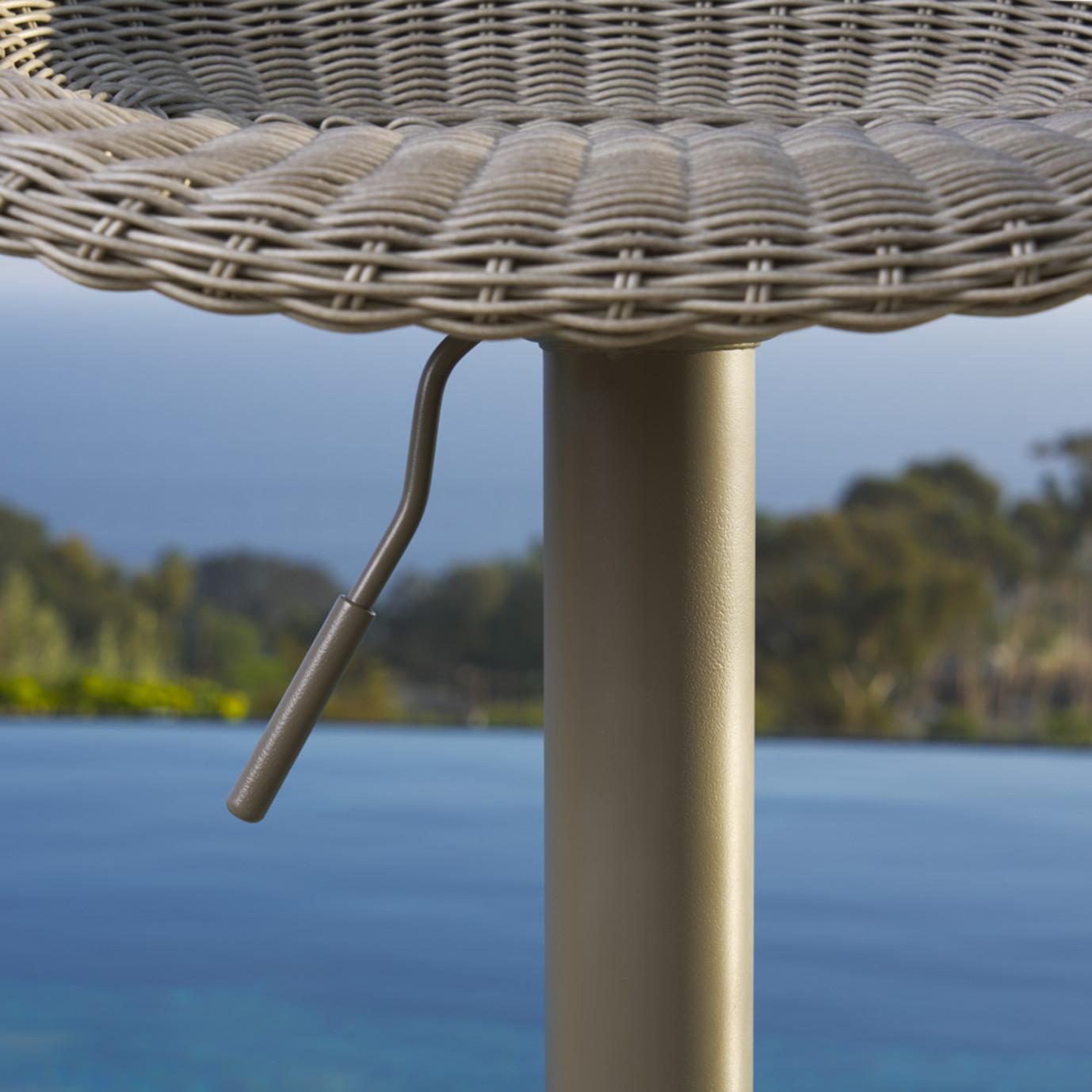 Portofino® Repose Airlift Barstools - Gray