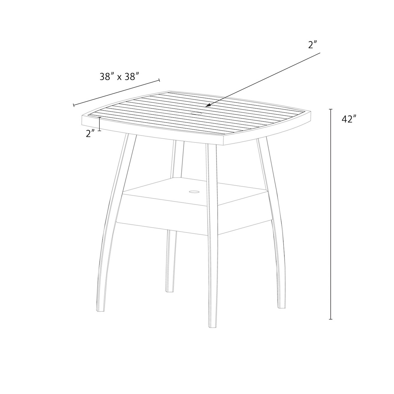 Cannes™ Barstool Table