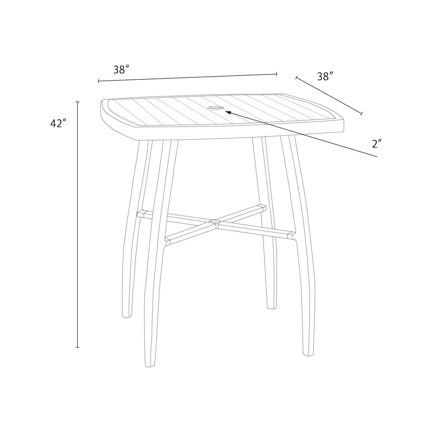 Deco™ Barstool Table