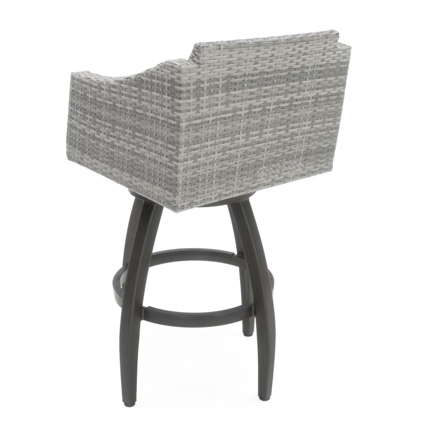 Cannes™ 5pc Barstool Set - Slate Gray