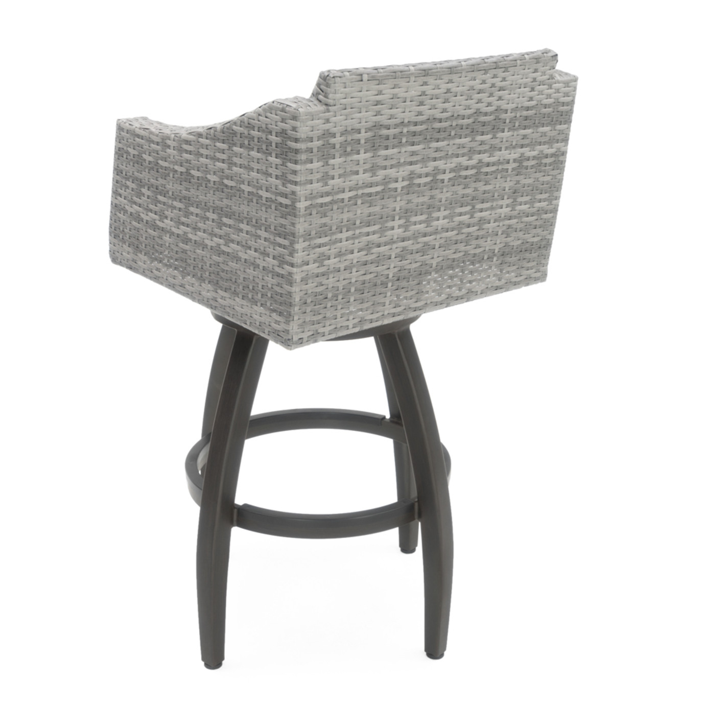 Cannes™ 5 Piece Barstool Set - Sunset Red