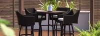 Deco™ 5 Piece Barstool Set - Bliss Linen