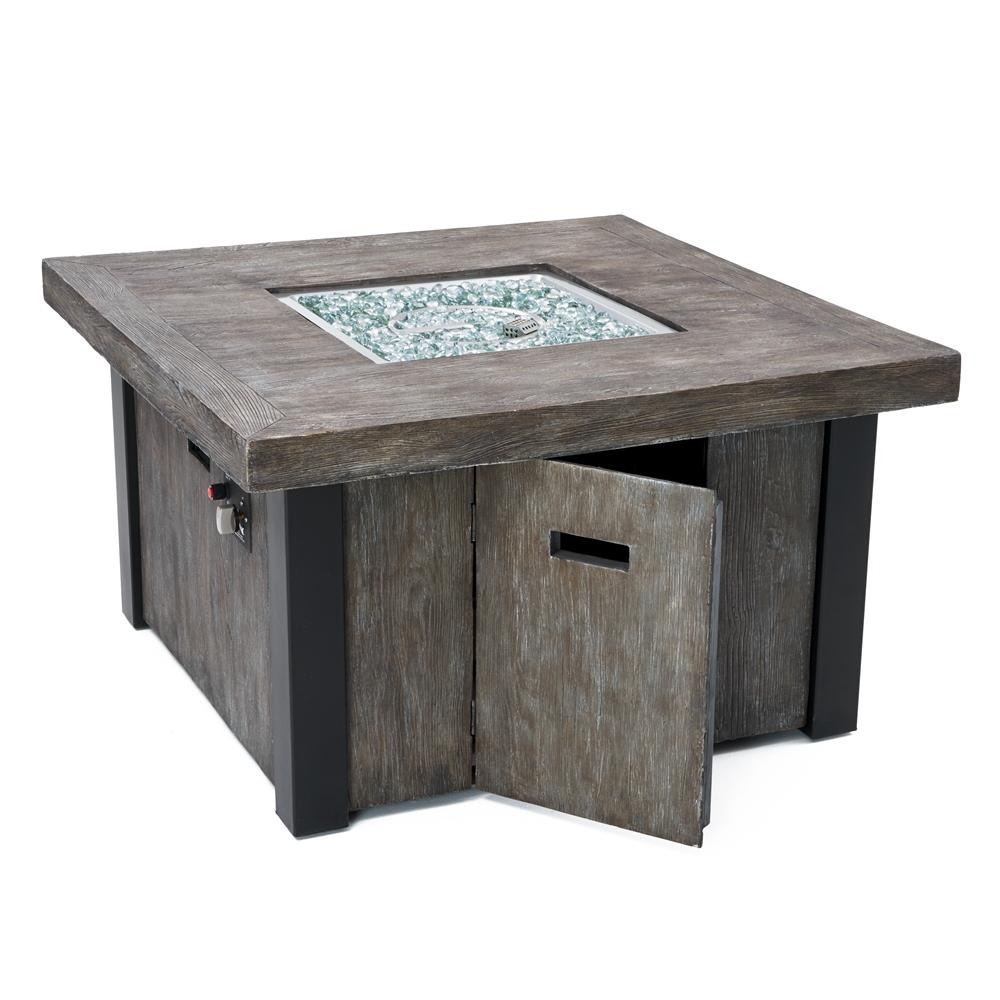 ... Taos 42in Square Fire Table ...