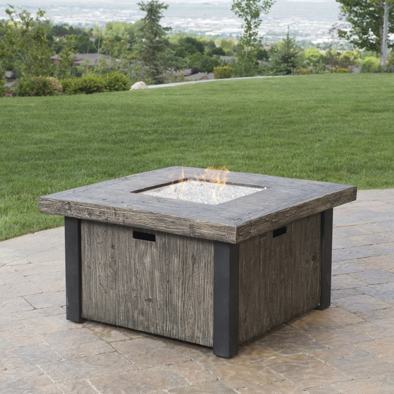 Taos 42in Square Fire Table