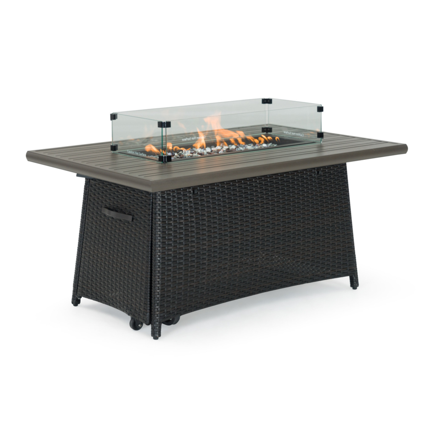 Portofino® Casual 50x32 Fire Table - Espresso
