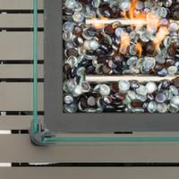 Portofino® Casual 50x32 Fire Table - Espresso