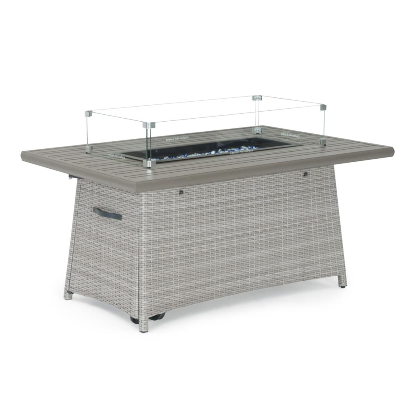 Portofino® Casual 50x32 Fire Table - Gray