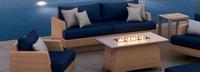 Portofino® Repose 50x32 Fire Table - Honey