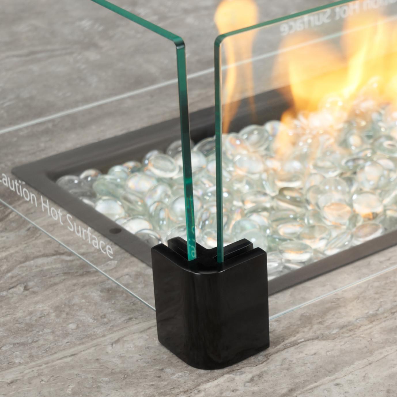 Portofino® Comfort 56x31 Fire Table Espresso