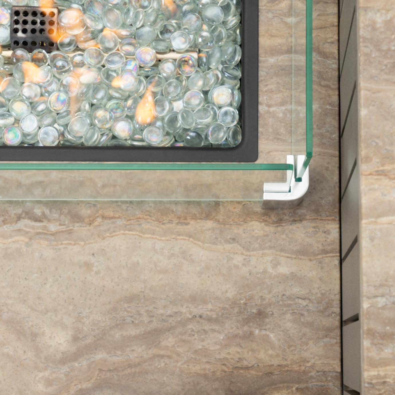 Portofino® Comfort 56x31 Fire Table – Gray