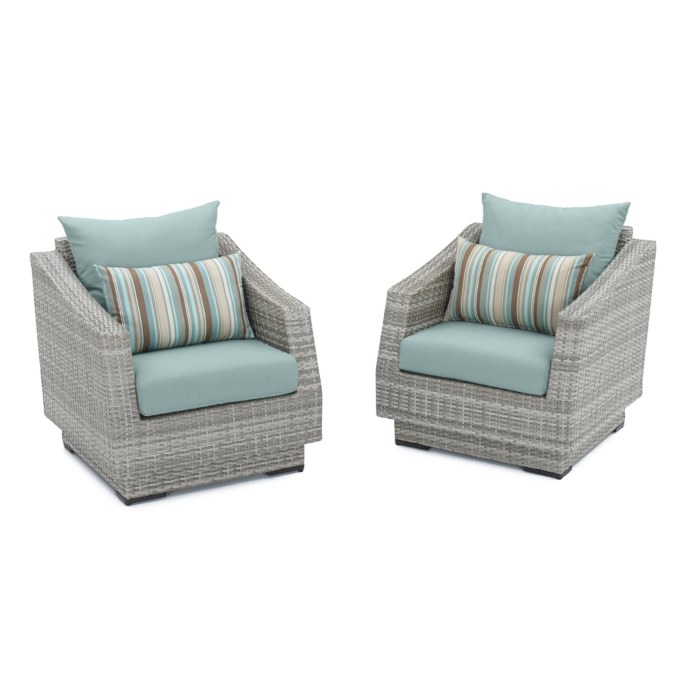 Cannes™ Club Chairs - Bliss Blue