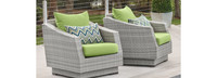 Cannes™ Club Chairs - Charcoal Gray