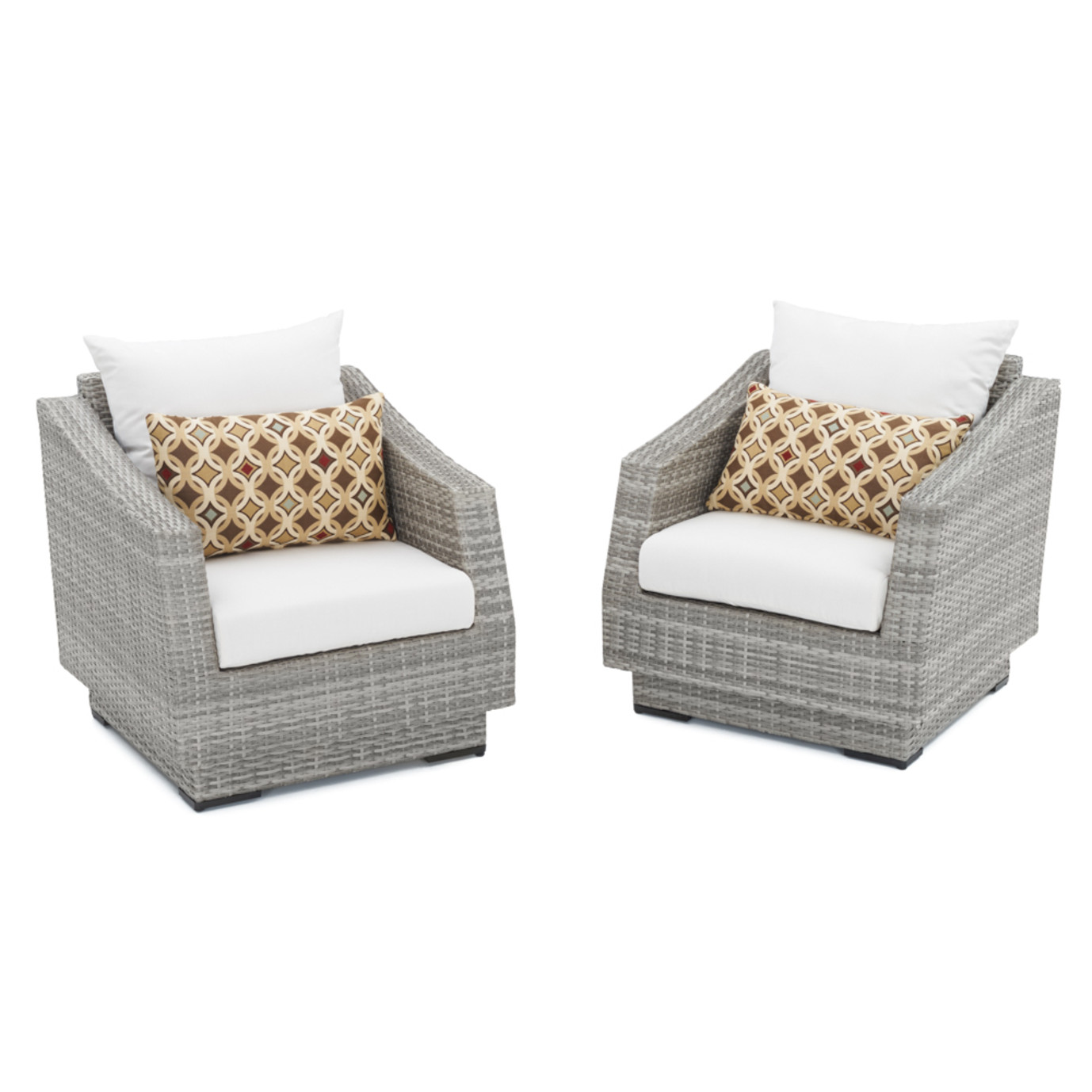 Cannes™ Club Chairs - Moroccan Cream