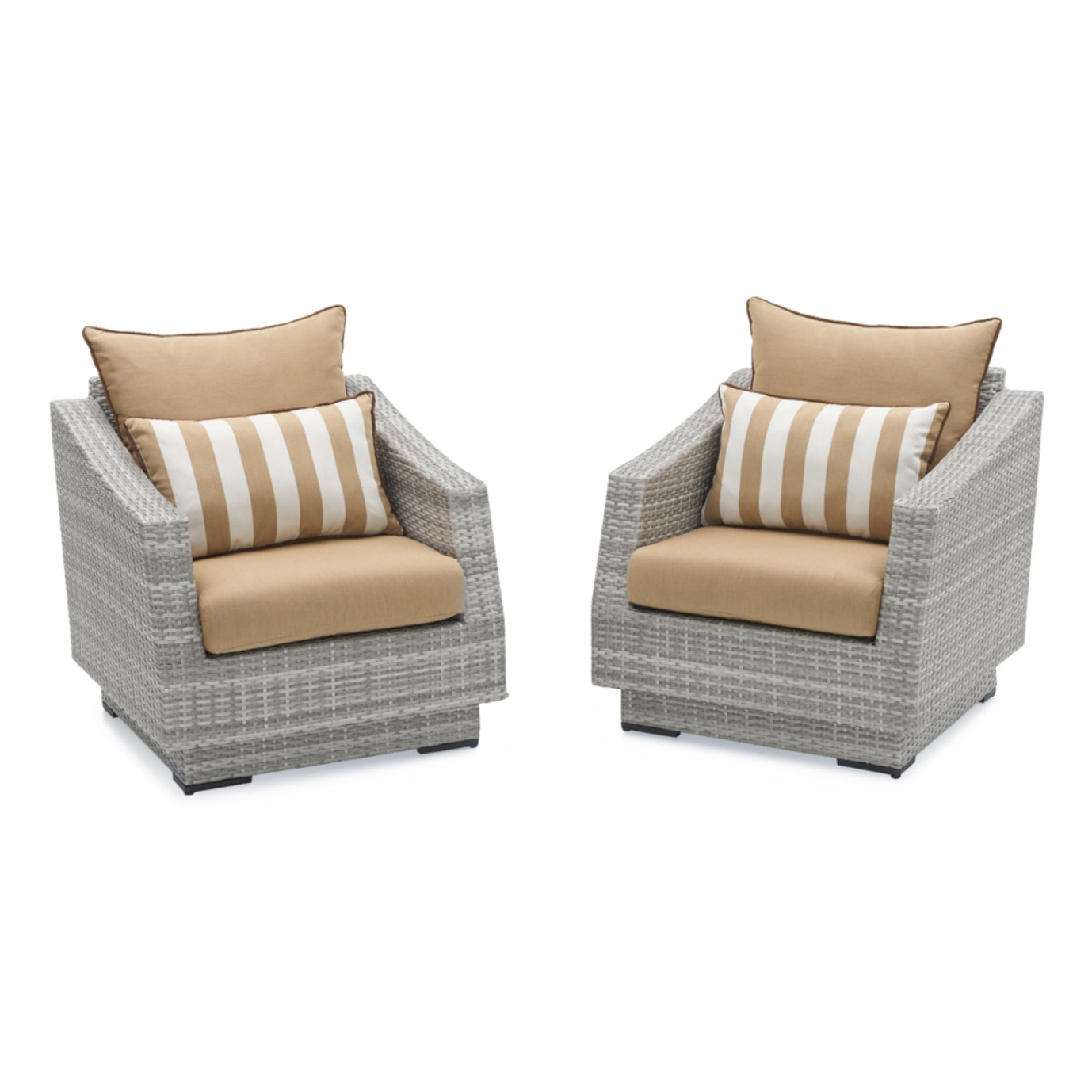 Cannes™ Club Chairs - Maxim Beige