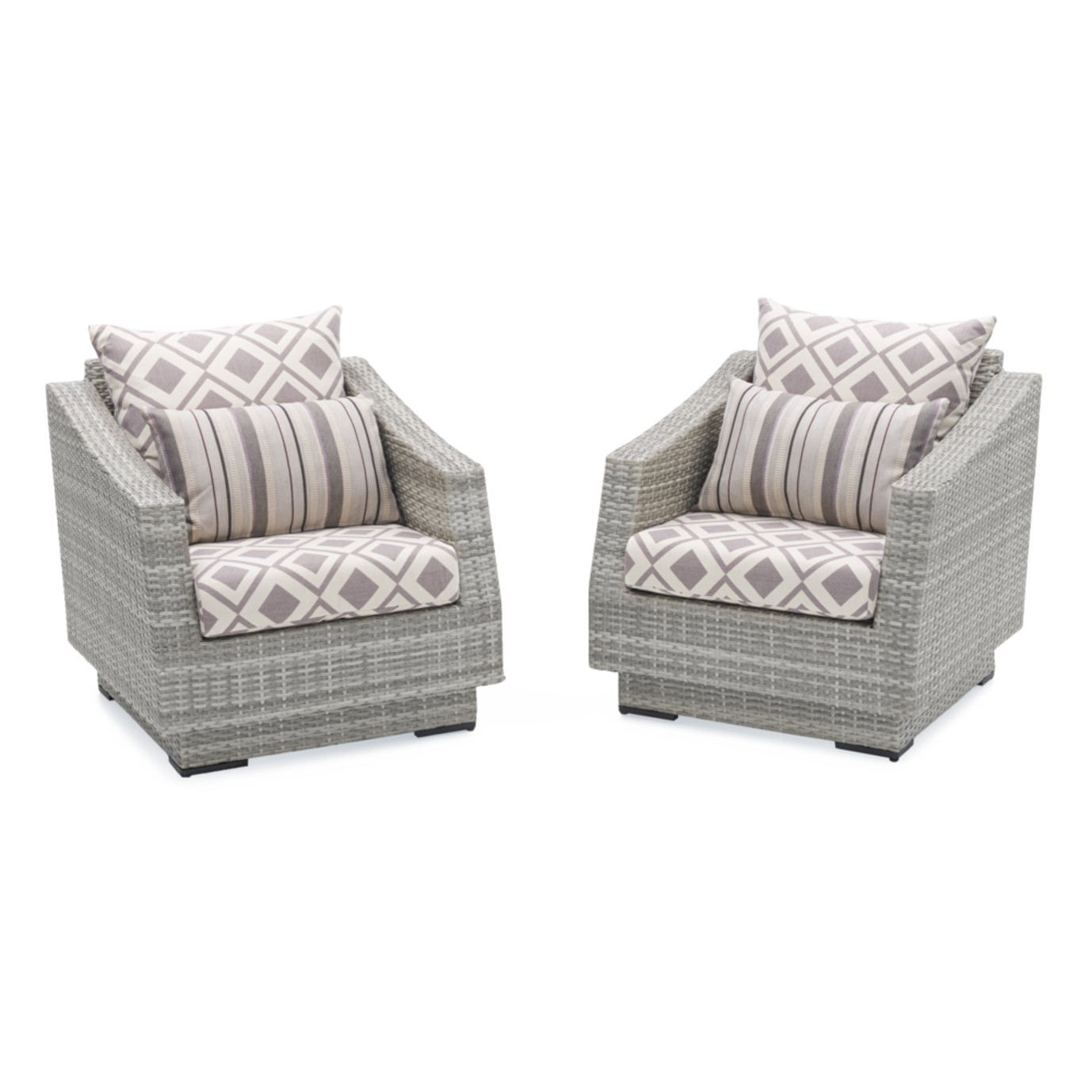 Cannes™ Club Chairs - Wisteria Lavender