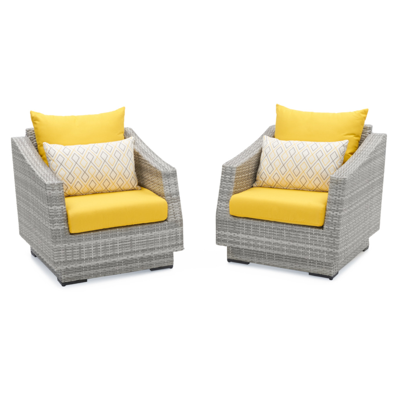 Cannes™ Club Chairs - Sunflower Yellow