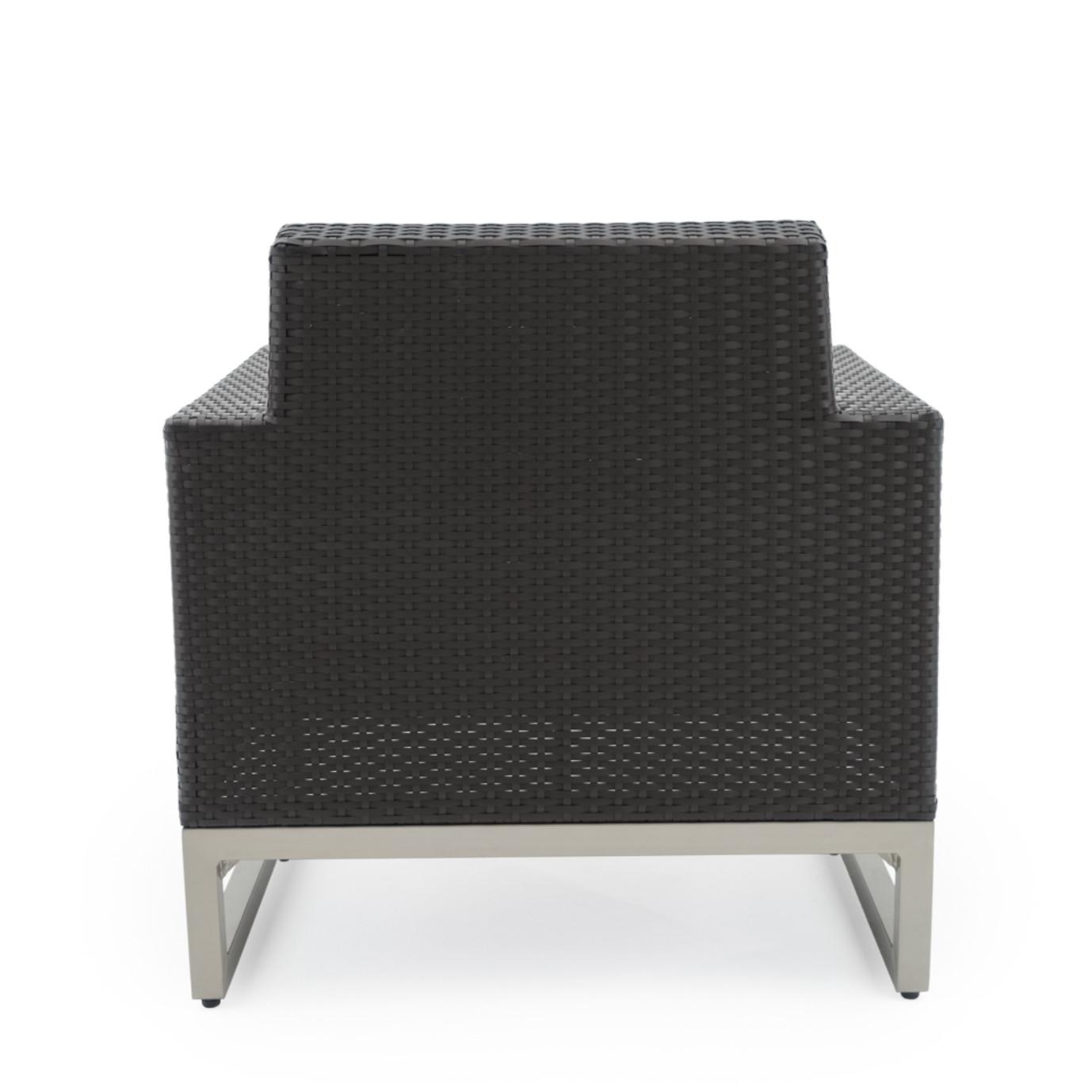 Milo™ Espresso Club Chairs - Moroccan Cream