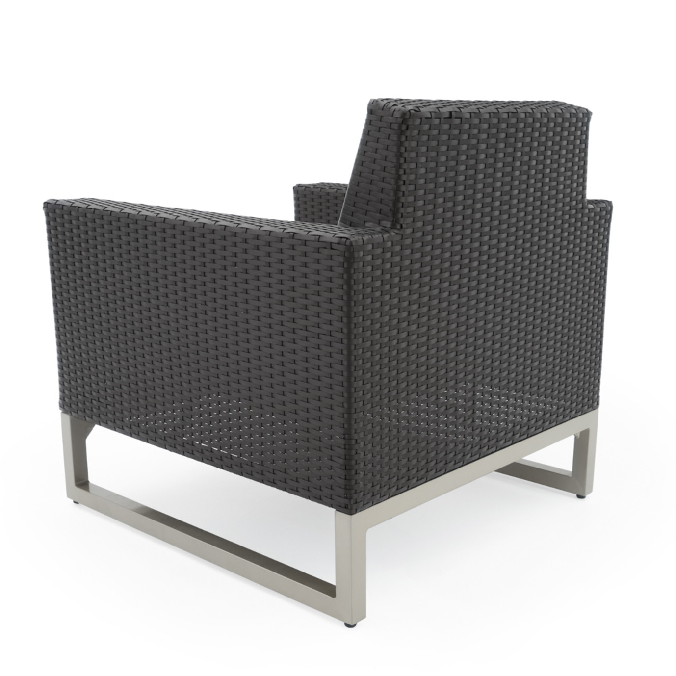 Milo™ Espresso Club Chairs - Spa Blue