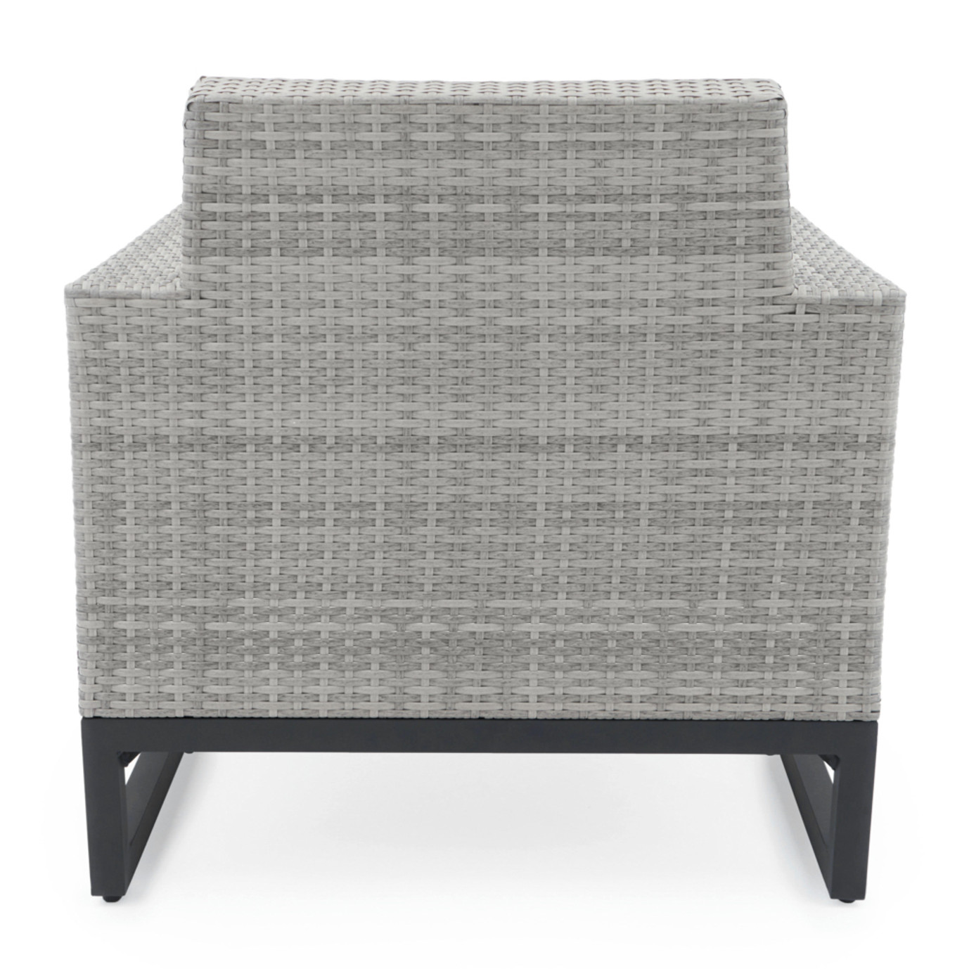 Milo™ Grey Club Chairs - Navy Blue