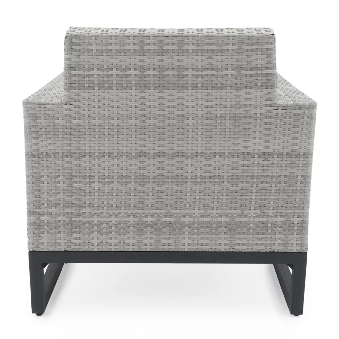 Milo™ Gray Club Chairs - Slate Gray