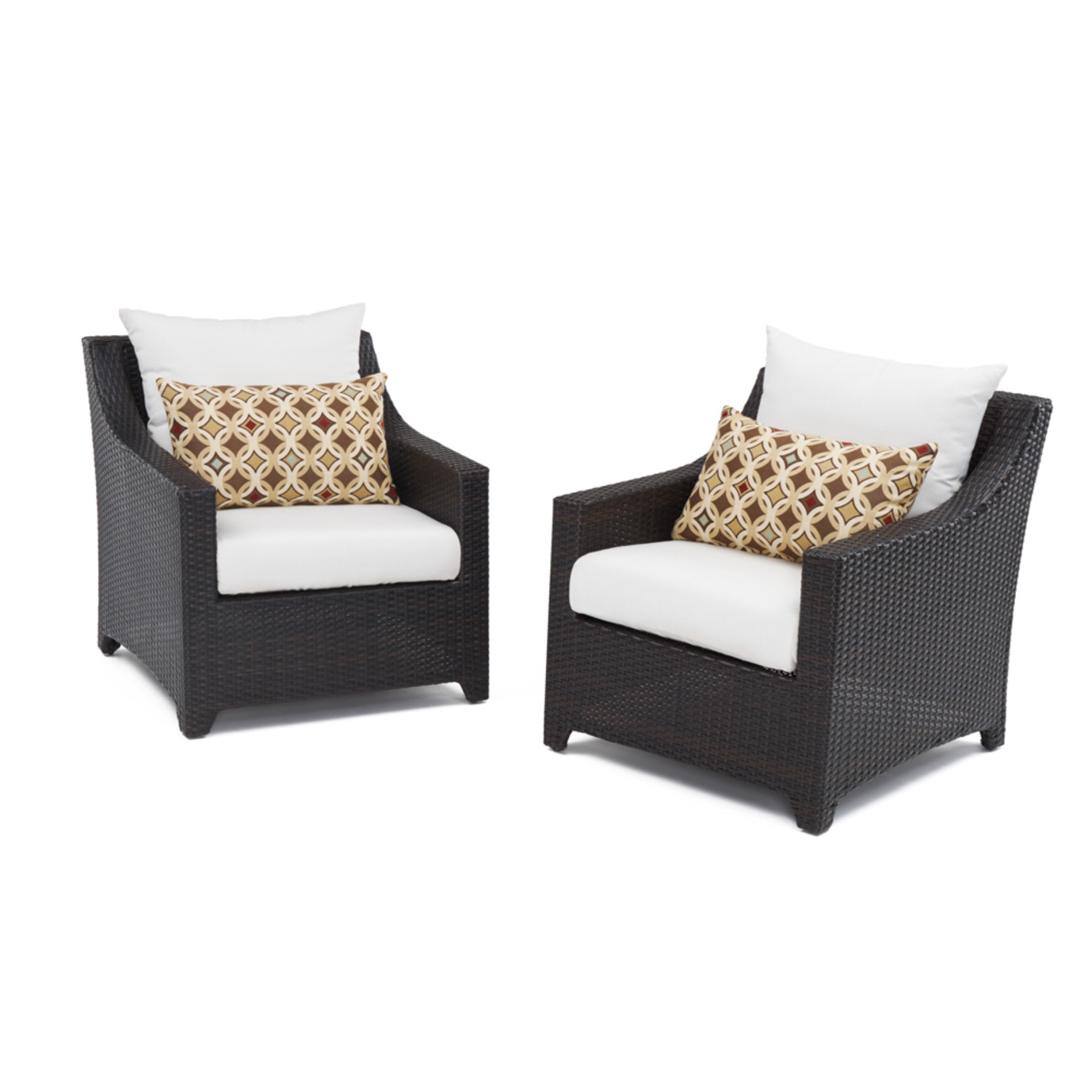 Deco™ Club Chairs - Moroccan Cream