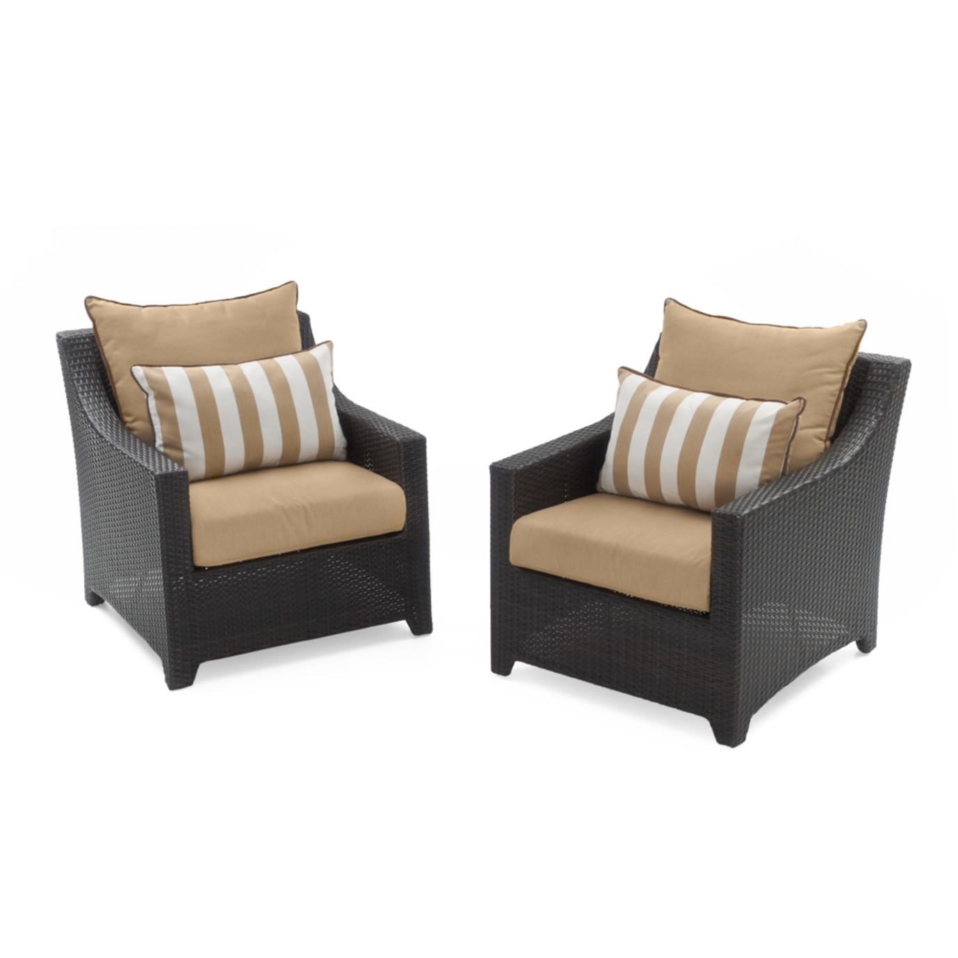 Deco™ Club Chairs - Maxim Beige