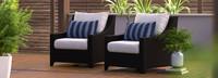Deco™ Club Chairs - Navy Blue