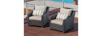 Deco™ Club Chairs - Slate Gray