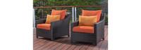 Deco™ Club Chairs - Tikka Orange
