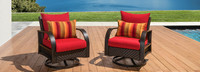 Barcelo™ Motion Club Chairs - Cast Coral