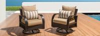 Barcelo™ Motion Club Chairs - Moroccan Cream