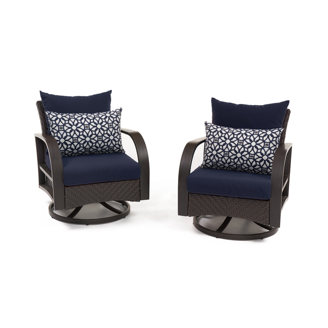 Barcelo™ Motion Club Chairs - Navy Blue