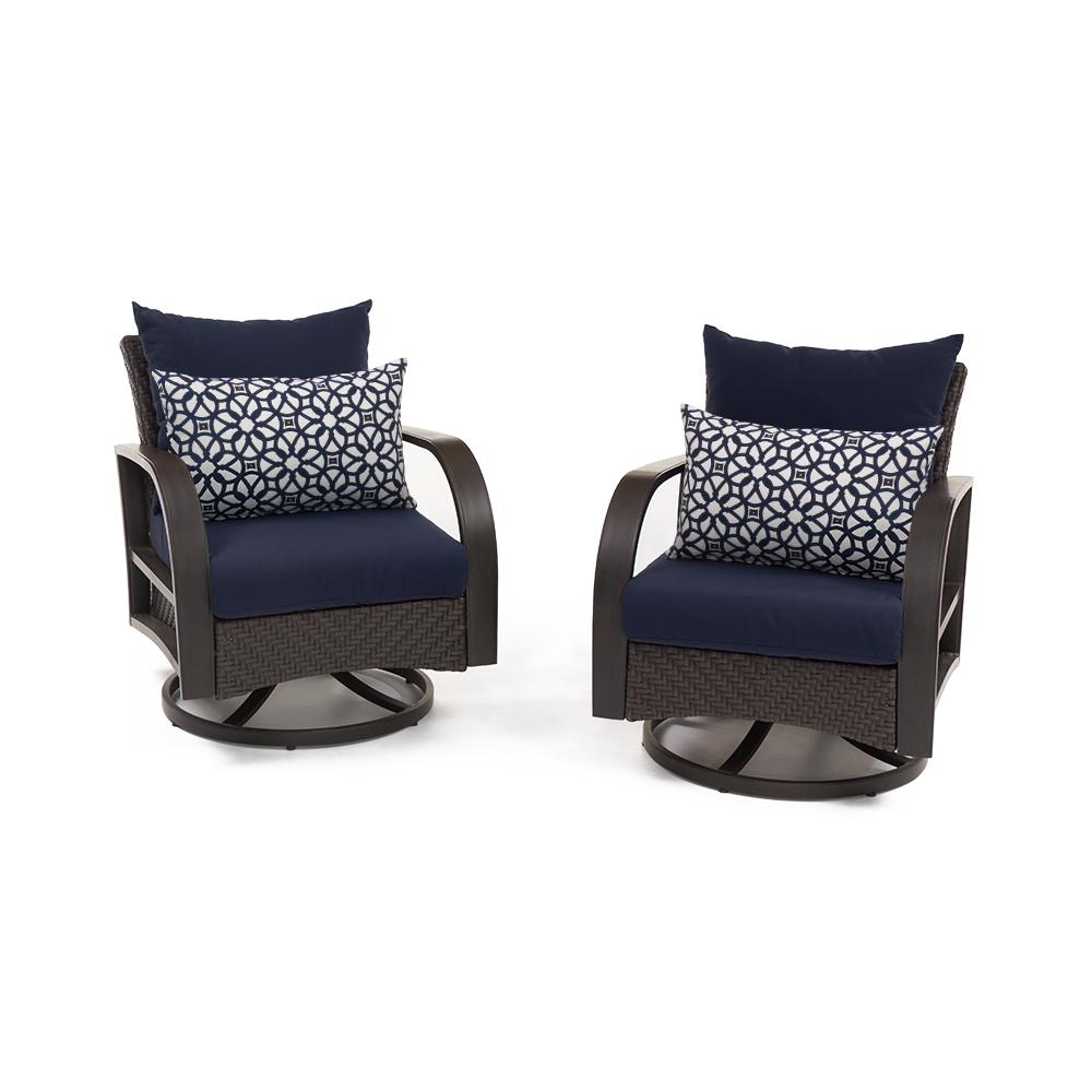 ... Barcelo™ Motion Club Chairs   Navy Blue ...