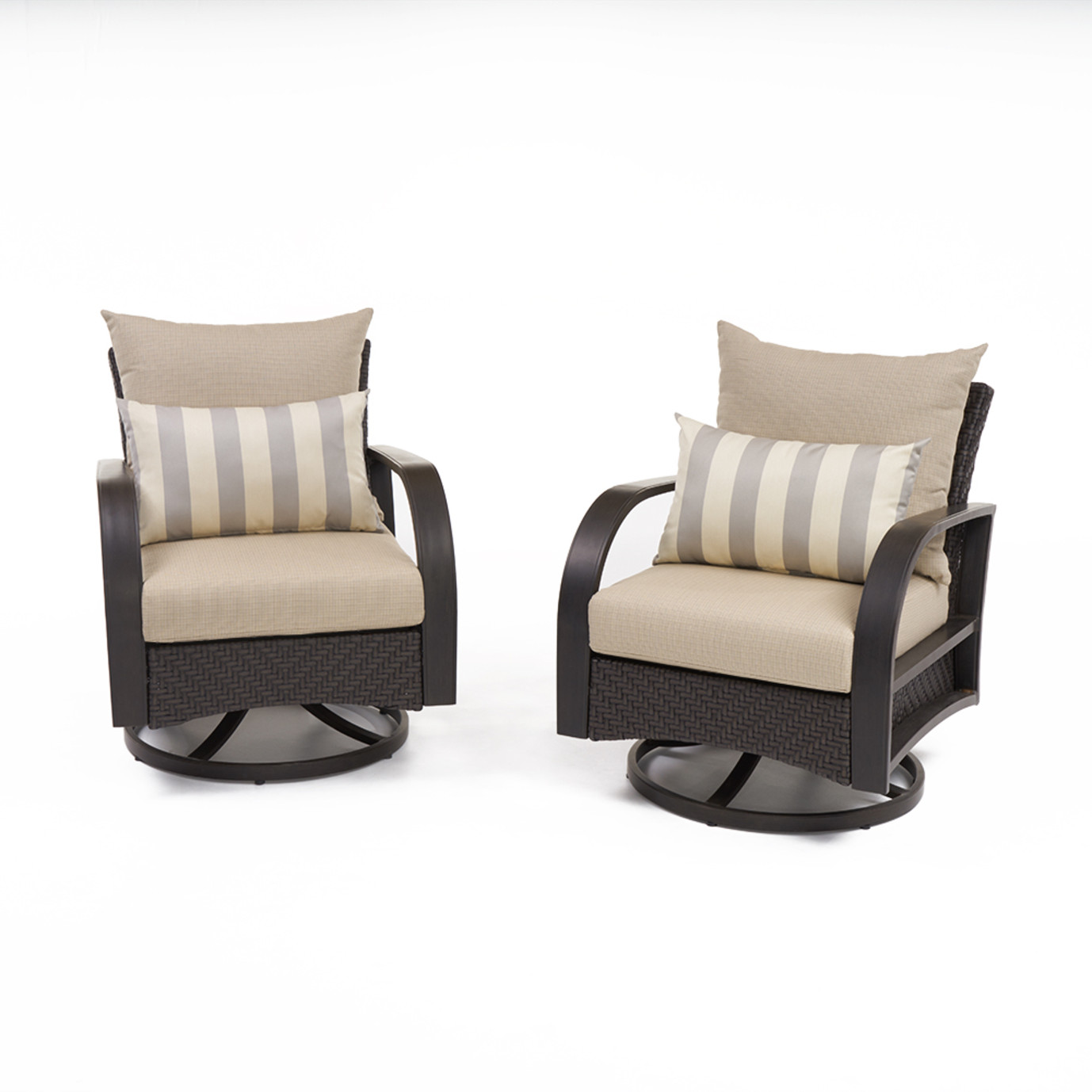Barcelo™ Motion Club Chairs - Slate Gray