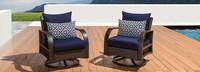 Barcelo™ Motion Club Chairs - Spa Blue