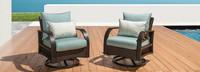 Barcelo™ Motion Club Chairs - Tikka Orange