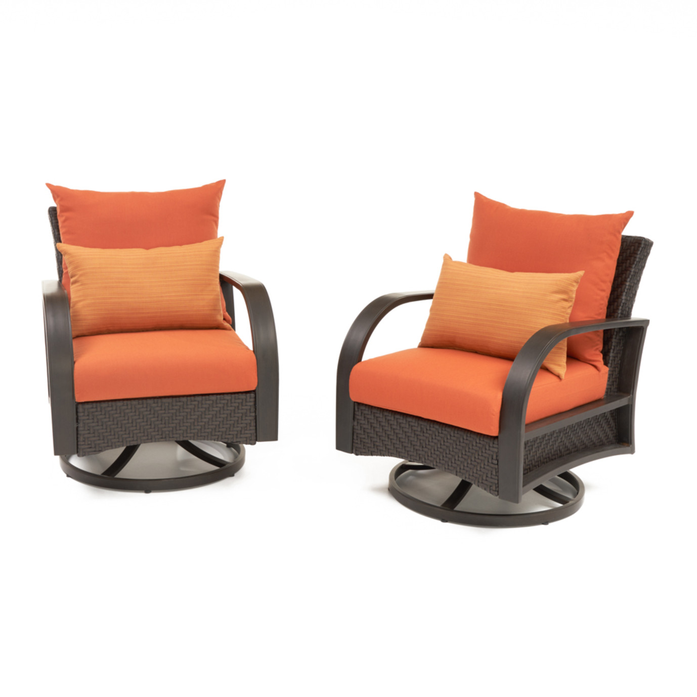 Barcelo™ Motion Club Chairs - Tikka Orange