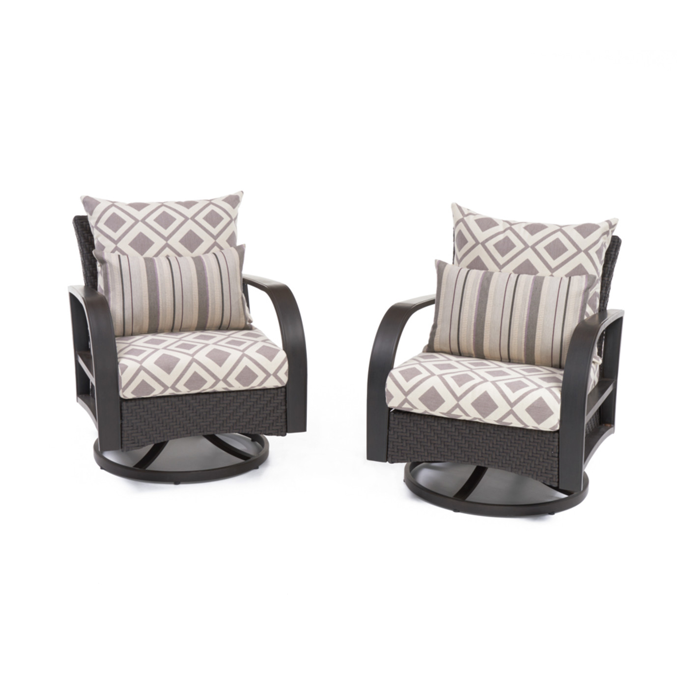 Barcelo™ Motion Club Chairs - Wisteria Lavender