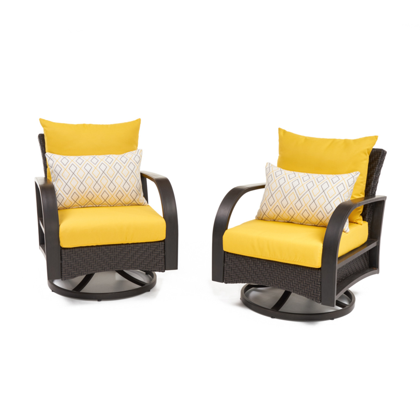 Barcelo™ Motion Club Chairs - Sunflower Yellow