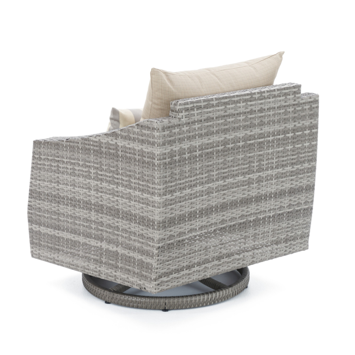 Cannes™ Motion Club Chairs in Slate Grey