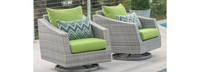 Cannes™ Motion Club Chairs - Spa Blue