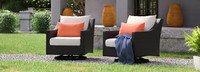 Deco™ Motion Club Chairs - Cast Coral