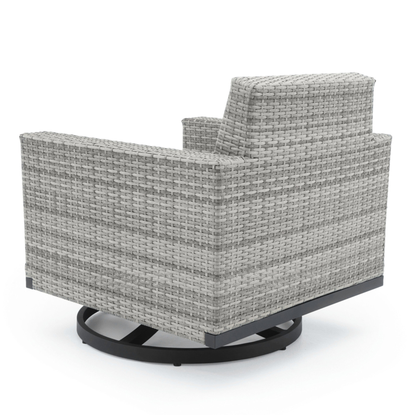 Milo™ Gray Motion Club Chairs - Charcoal Gray
