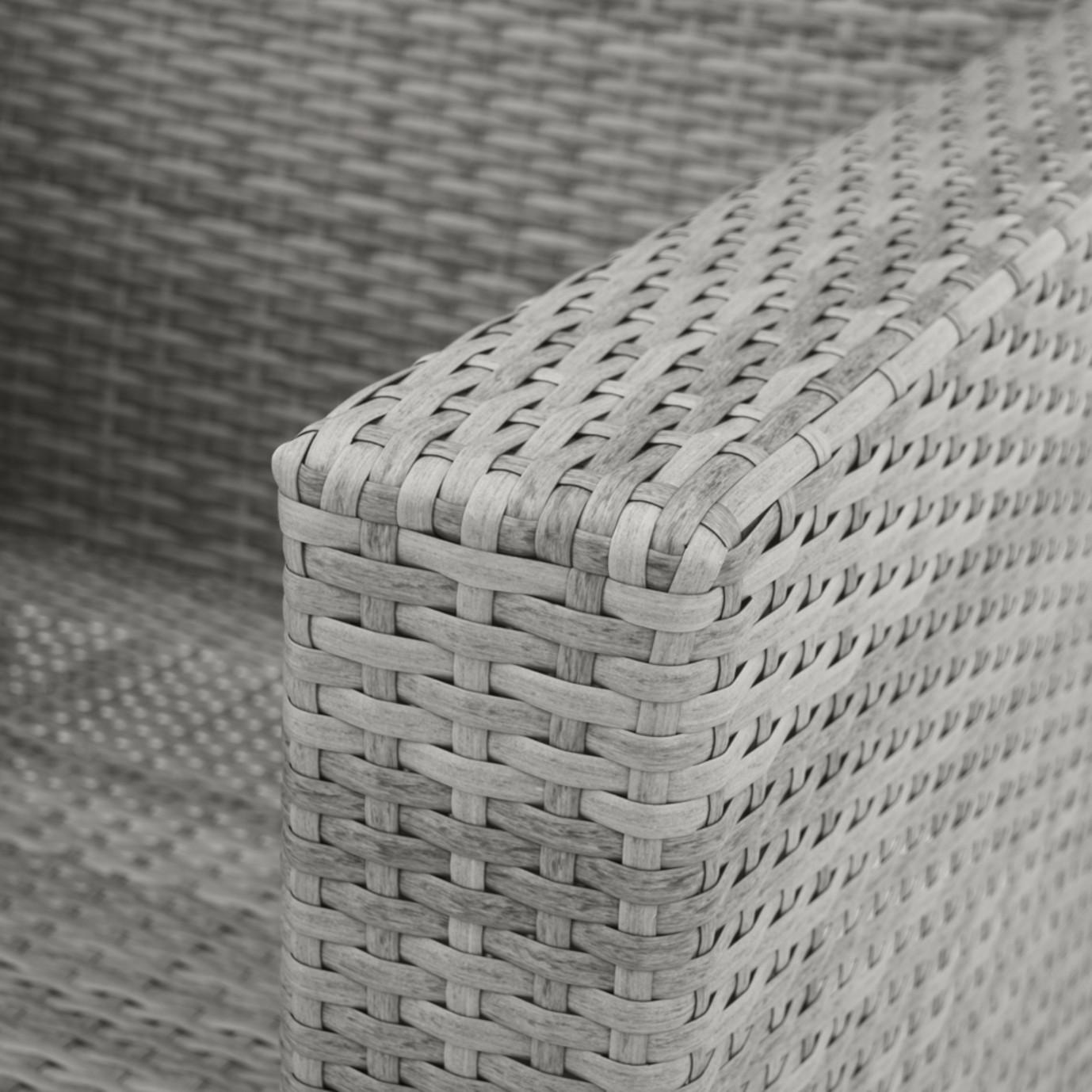 Milo™ Grey Motion Club Chairs - Moroccan Cream