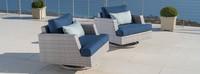 Portofino® Comfort Motion Club Chairs - Laguna Blue