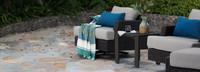Portofino® Repose Motion Comfort Club Chairs - Dove Gray