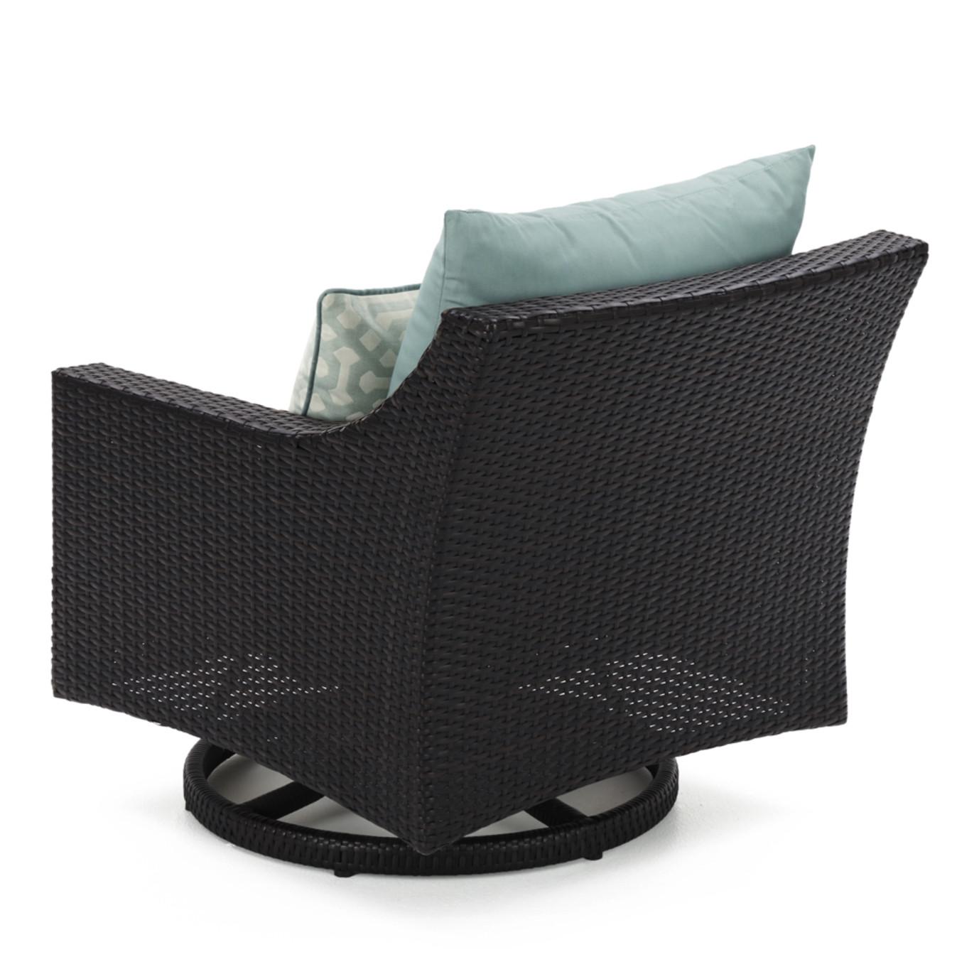 Deco™ Motion Club Chairs - Spa Blue