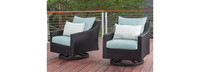 Deco™ Motion Club Chairs in Tikka Orange