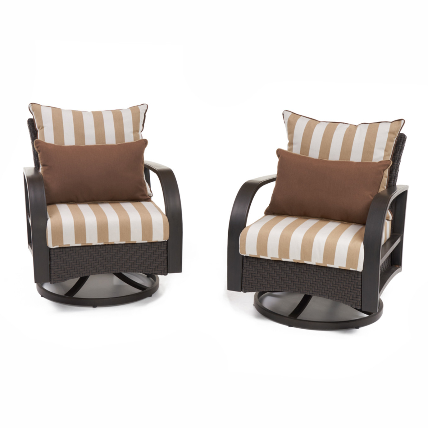 Barcelo™ Deluxe Motion Club Chairs - Maxim Beige