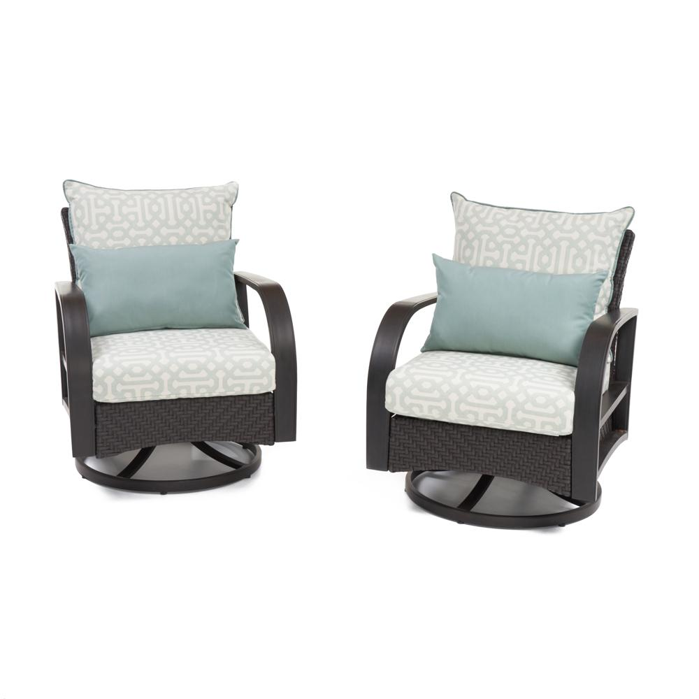 Barcelo Deluxe Motion Club Chairs - Design Spa Blue